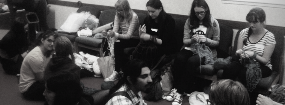 Knitting Groups: Aberdeen University Knitting Society