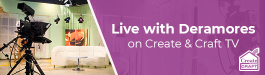 Live with Deramores on Create and Craft TV 26th October at 11:00am