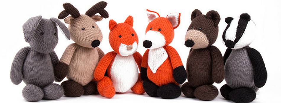 The Deramores Woodland Animals Collection
