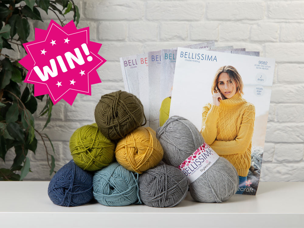 Stylecraft Giveaway: WIN 1 of 3 Stylecraft Yarn & Pattern Bundles