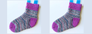 Crafternoon Treats: Perfect Fit Crochet Socks