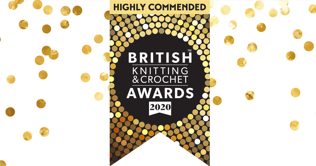 We've done it - Highly Commended in the Favourite Online Shop category