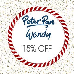 15% OFF Peter Pan, Wendy & Erika Knight