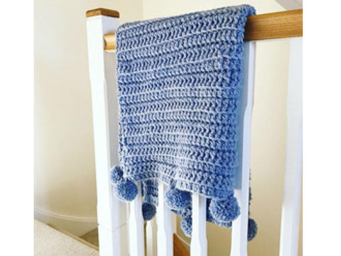 Mythically Chunky Blanket Crochet Kit and Pattern in Cygnet Yarn