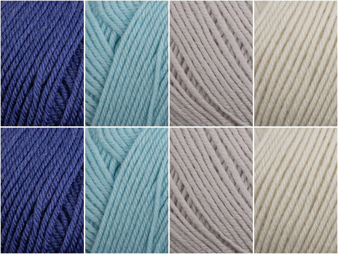 Yarn Stories Fine Merino 4 Ply Rock Pools Colour Pack