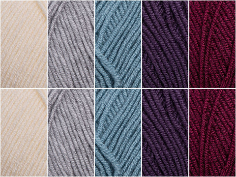 Winter Wonderland Colour Pack in Stylecraft Bellissima DK