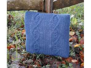 Cabled Cushion Cover by Sarah Murray in Stylecraft Special Aran with Wool