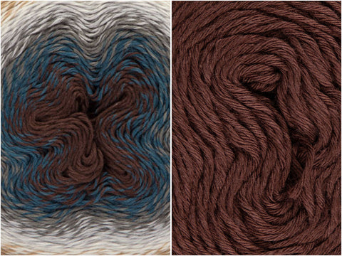 Hot Cocoa Colour Pack in Scheepjes Whirl & Whirlette