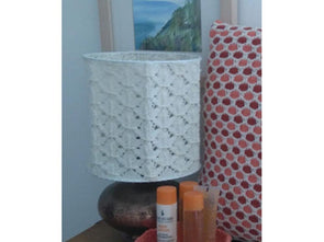Lampshade by Sarah Murray in Sirdar Country Style DK
