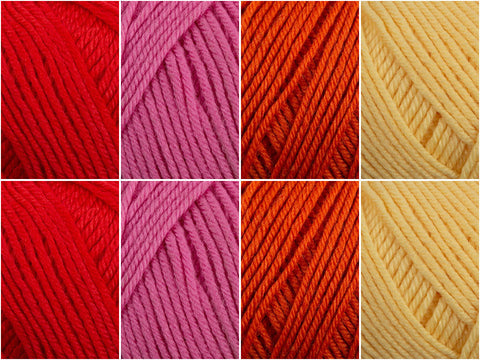 Yarn Stories Fine Merino 4 Ply Summer Sunset Colour Pack