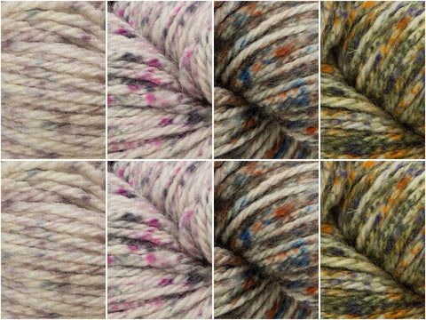 Tweedy Colour Pack in West Yorkshire Spinners The Croft Shetland Tweed
