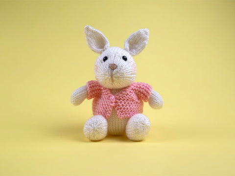 Bunny Knitting Kit and Pattern