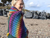 Gemstones Wrap by Carmen Heffernan in King Cole Curiosity DK