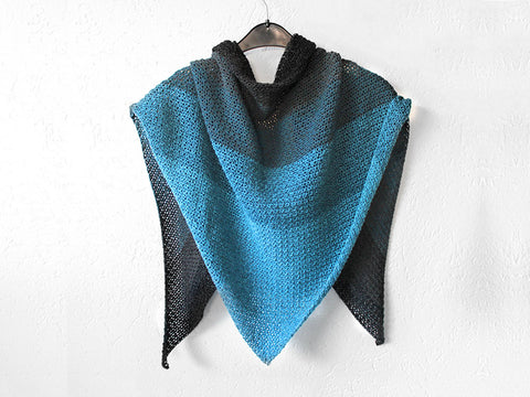 Never Ending Shawl Crochet Kit and Pattern in Scheepjes Yarn