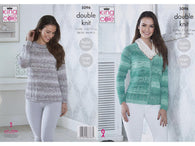 Cardigan & Sweater in King Cole Vogue DK (5096K)