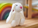 Cuddle Bunny Crochet Kit and Pattern in Deramores Yarn