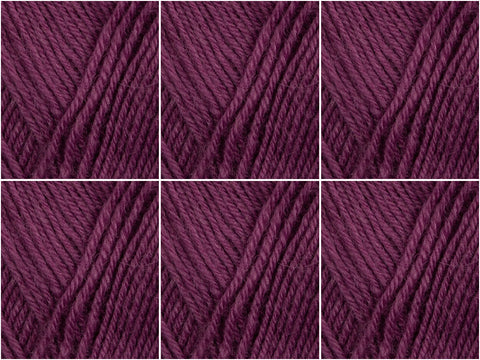 Cygnet Yarns Truly Wool Rich 4 Ply - 6 Ball Value Pack