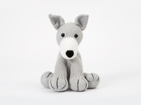 Greyhound - Dera-Dogs Knitting Kit and Pattern in Deramores Yarn