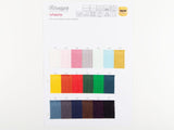 Scheepjes Colour Sample Card