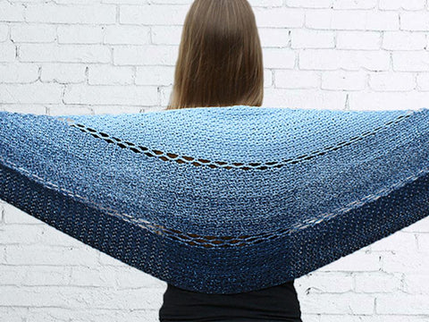 Joyful Josie Shawl by Wilmade in Scheepjes Whirl