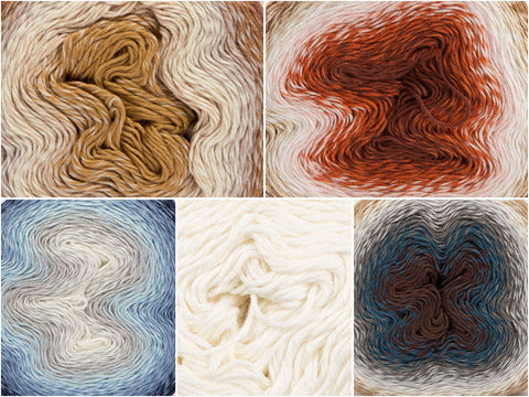 Ice Cream Colour Pack in Scheepjes Whirl & Whirlette