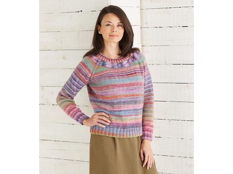Top Down Sweater in Sirdar Jewelspun (10028)