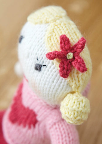 Polly Doll in Deramores Baby DK (1003)