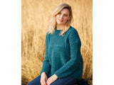Sweater in Hayfield Bonus Aran & Bonus Aran Tweed with Wool (10076)