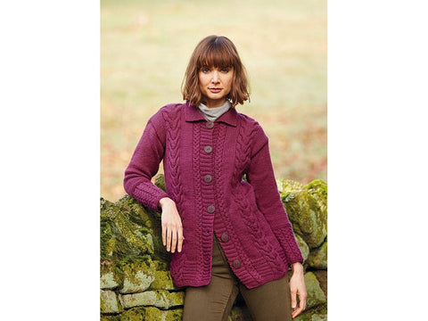 Jacket in Hayfield Bonus Aran (10081S)