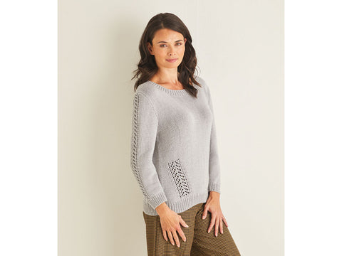 Sweater Knitting Kit and Pattern in Sirdar Yarn (10095)