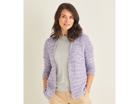 Cardigan Knitting Kit and Pattern in Sirdar Yarn (10107)