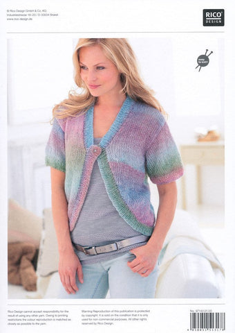 Cardigans in Rico Design Creative Reflection DK (142)