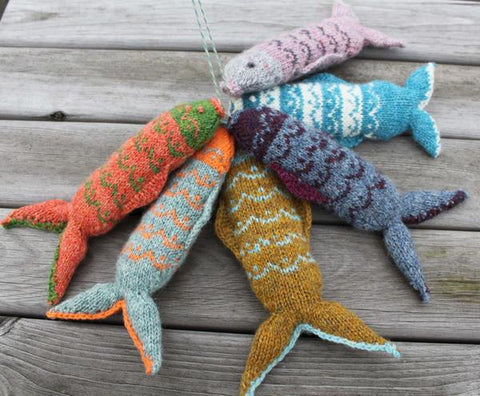 Fair Isle Fish - By Julia Marsh - Digital Pattern
