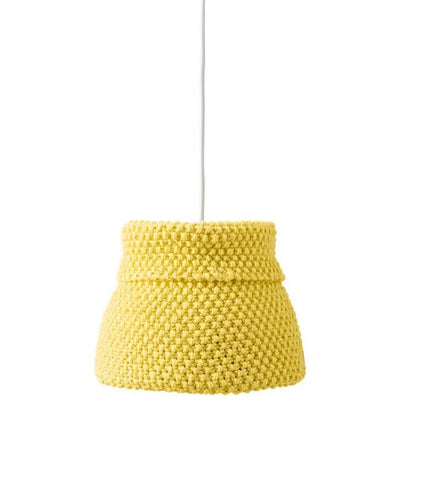 Yellow Lampshade in Bergere de France Ideal (704.94)