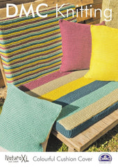 Colourful Cushion Cover in DMC Natura XL (15244L/2)