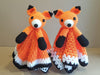 Foxy Fox Lovey Security Blanket Crochet Kit and Pattern