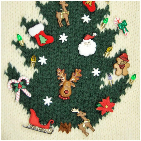 O Christmas Tree Stocking in Cascade 220 - Digital Version