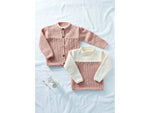 Sweater and Jacket in Sirdar Supersoft Aran (2504S)