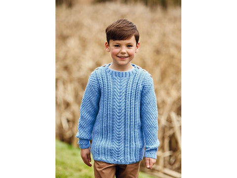 Sweater in Hayfield Bonus Aran (2506S)