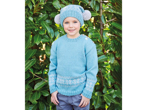 Boy's Sweater and Hat in Sirdar Country Classic (2515S)