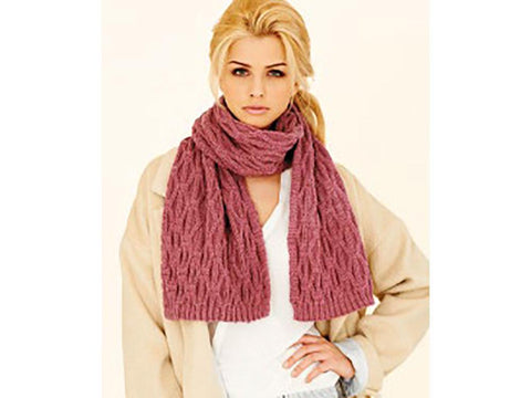 Scarf & Snood in Rico Design Essentials Merino DK