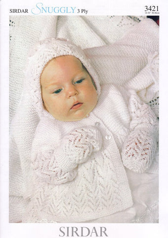 Layette in Sirdar Snuggly 3 Ply (3421)