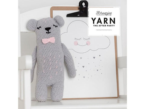 YARN The After Party 37 - Crochet Kit and Pattern Woodland Friends Bear
