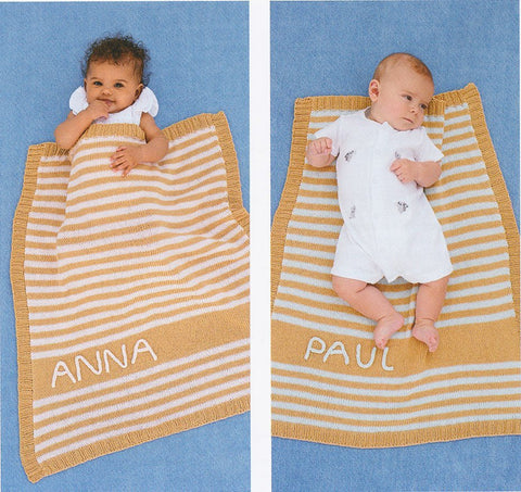 Stripe Sweaters and Blanket in Rico Design Baby Cotton Soft DK (399)