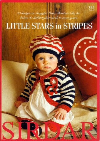 Little Stars in Stripes by Sirdar (355C)