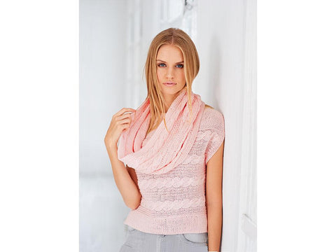 Top & Snood in Rico Design Essentials Cotton DK