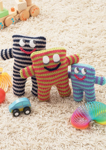 Stripey Toys in Hayfield Baby Chunky (4613)