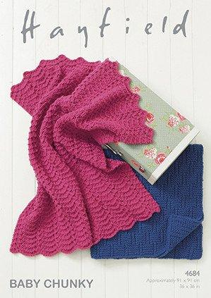 Blankets in Hayfield Baby Chunky (4684)