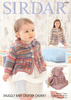 Baby Girl's & Girls Coat & Blanket in Sirdar Snuggly Baby Crofter Chunky (4793)
