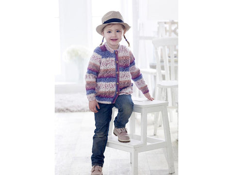 Sweater and Cardigan in King Cole Splash DK (4915)